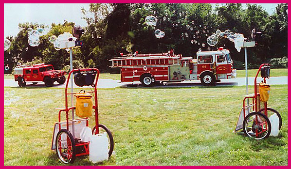 Someday all Emergency services will be equipped with portable bubble generators